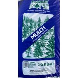 Pine Bark Mulch 3 cubic ft bag